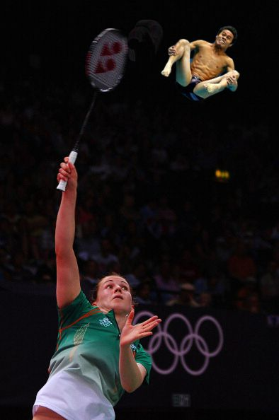 16. | 20 Photos Of Olympic Badminton Players Swatting Divers Like They're Flies