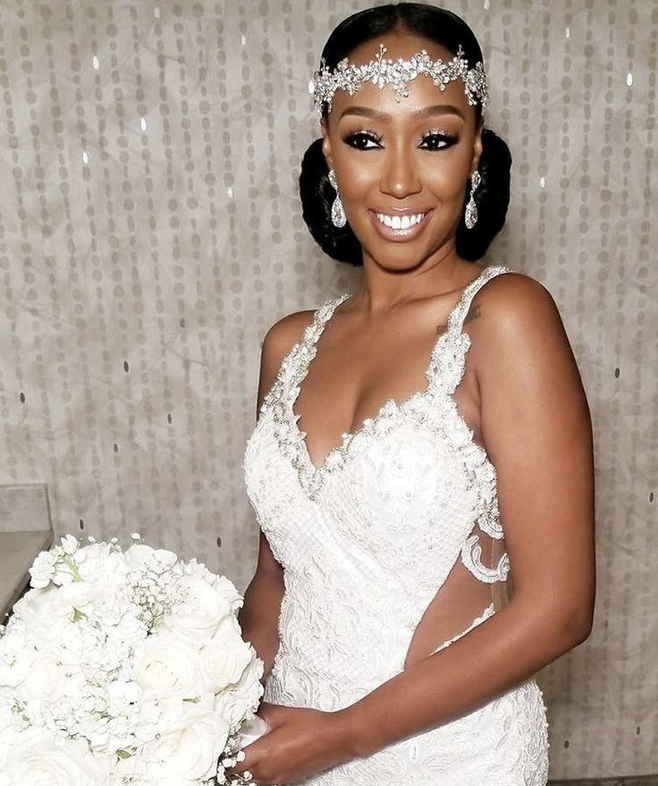 Sisi Nike Bridal Makeup Artist Ny My Afro Caribe Wedding Bridalmakeupartist Black Brides Hairstyles Bride Headpiece Black Wedding Hairstyles
