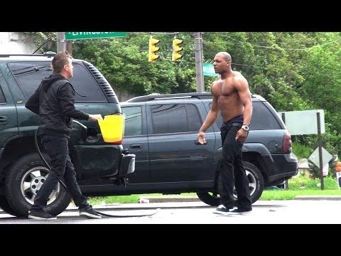 Stealing Peoples Gas Prank!! - http://www.viralvideopalace.com/romanatwood/stealing-peoples-gas-prank/
