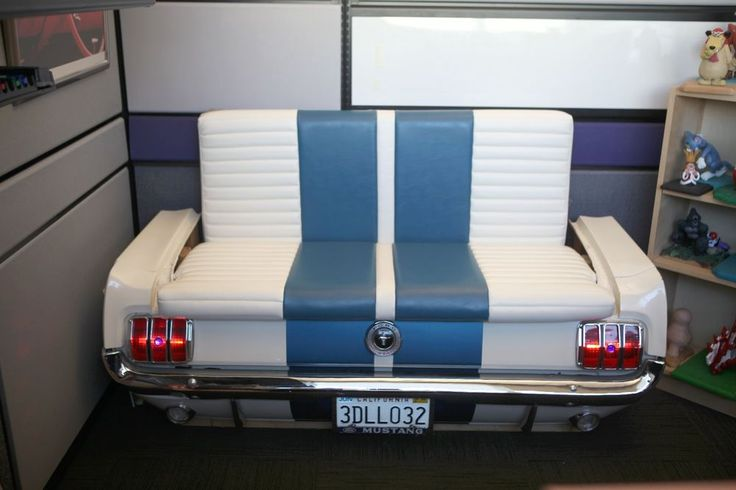 1965 Ford Mustang Car Couch Man Cave Bar Diner Booth
