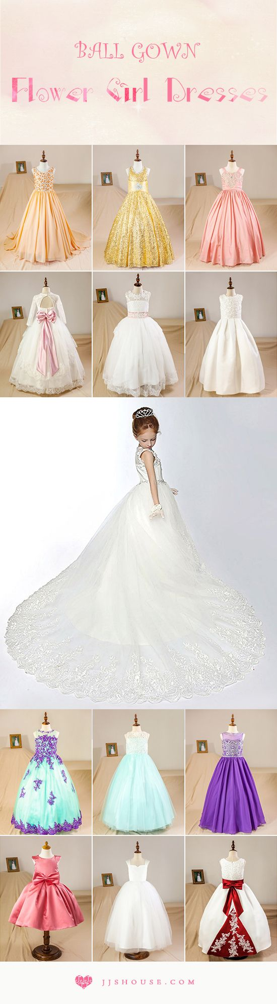 130 best JJsHouse Flower Girl Dresses images on Pinterest