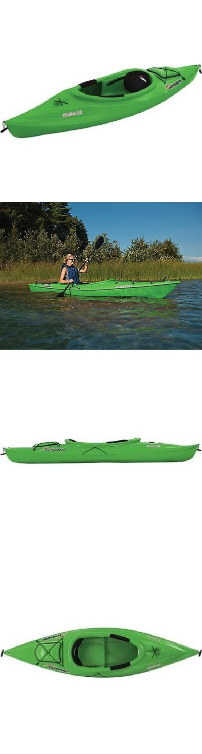 Other Kayak Canoe and Rafting 36123: Green 10? Sit In Kayak River Rafting Lake Fishing W/ Paddle Extreme Water Sports -> BUY IT NOW ONLY: $429.55 on eBay!