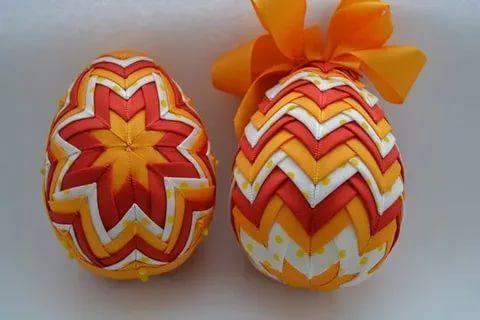 пасхальное яйцо из атласных лент своими руками мастер класс: 12 тыс изображений найдено в Яндекс.Картинках