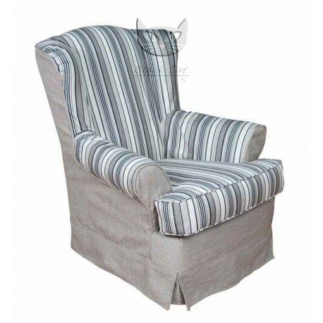 Fotel w stylu brytyjskim - Retro