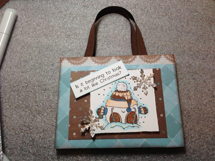 Hot chocolate shopping bag
