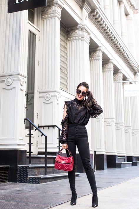 New York Uniform :: Lace top