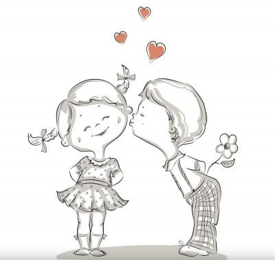 Dibujos de Amor Parejas Para Compartir