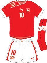 Switzerland | home jersey | 2012-2013