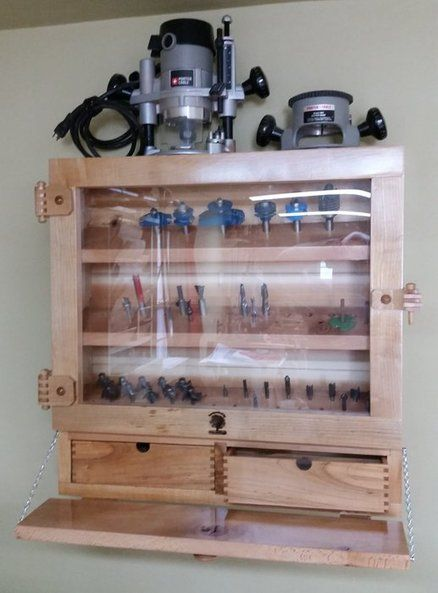 Router Accessory Cabinet