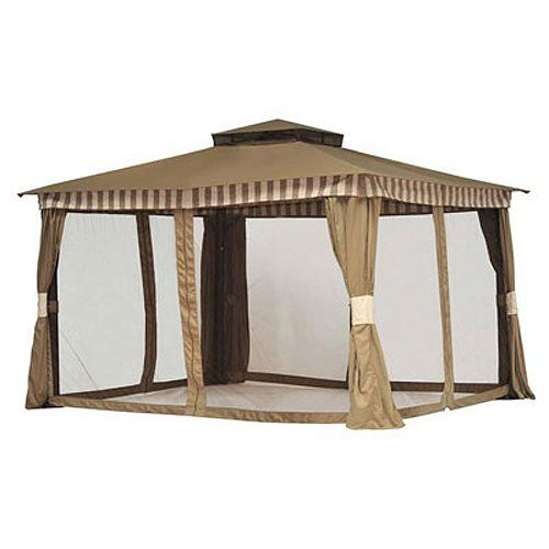 Replacement Canopy And Netting For 10 X 12 Gazebo Sold At BJs 2010 By