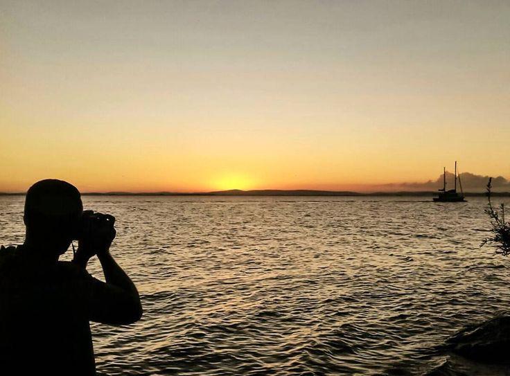 [ Todo dia é dia! ]  . #sunset #sunshine #canon #canon_photos #vsco #vscocam #communityfirst #porairs #concursovivaguaíba #igerspoa #igersbrasil #myplace #ig_riograndedosul #rs #sunday #nature #naturelover #silhouette #achadodasemana #doleitorzh . Foto: @laribisch
