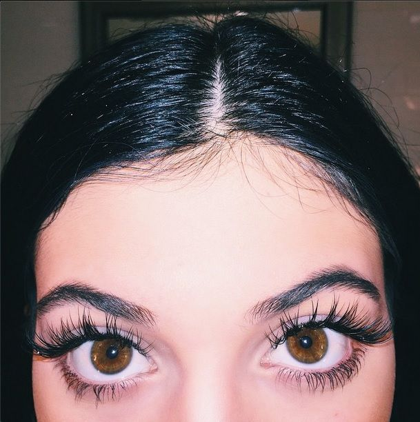 Are Kylie Jenner's lashes real? #KylieJenner #Eyelashes #Beauty
