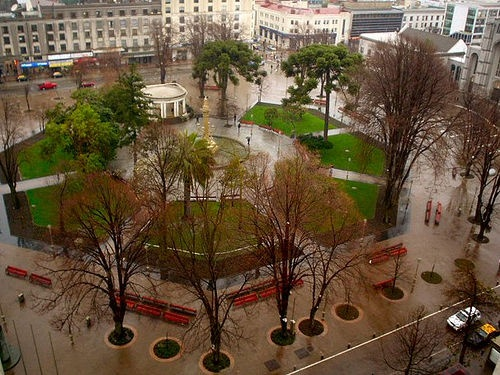 plaza de mi hermosa ciudad, Concepción