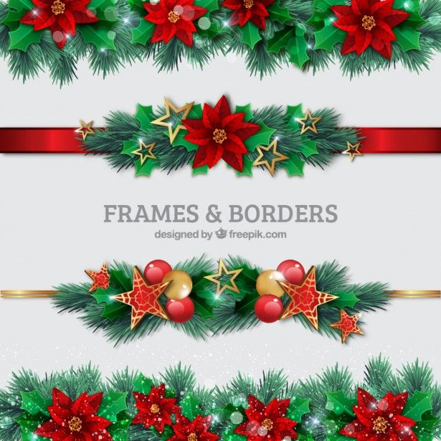 Download Christmas Borders Set For Free Christmas Border Free Christmas Borders Christmas Frames Free