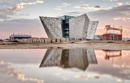 The Titanic Experience is the largest development in the new Titanic Quarter, a waterfront regeneration project in Belfast Harbor