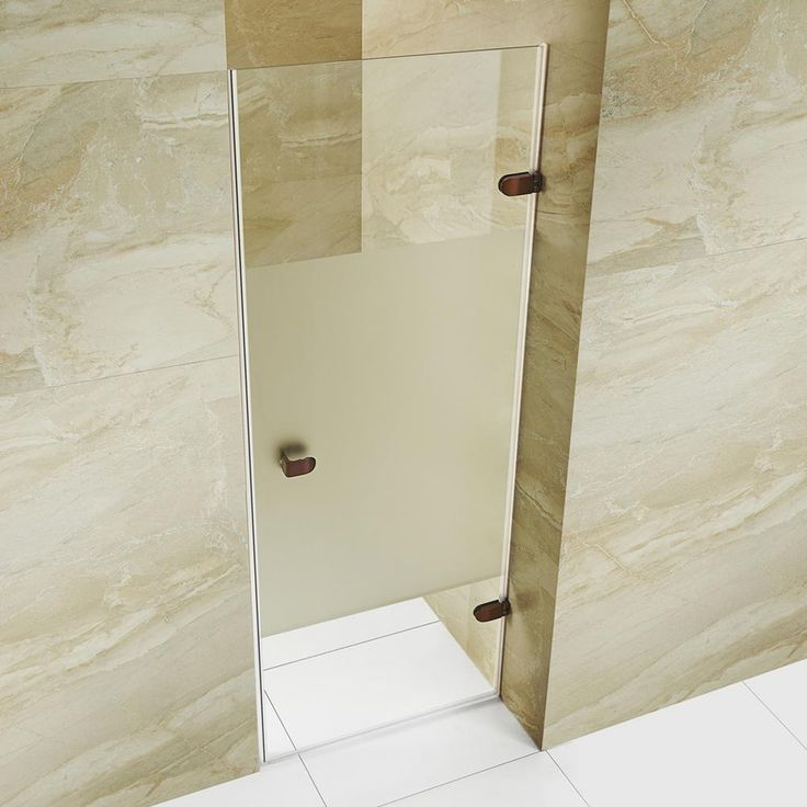 Vigo Tempo 28 To 28 1 2 In X 70 625 In Frameless Hinged Shower
