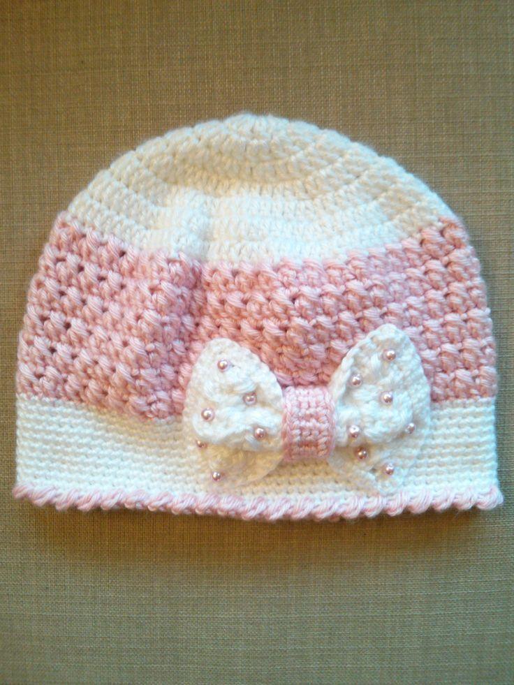 Handmade Crochet Hats for girls, Beanie Hats, Girls Crochet Hats by MyStylishCrochet on Etsy