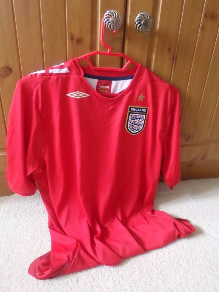 Ladies England Shirt 2006-2008 Size 16 Away Shirt Umbro #Umbro #England