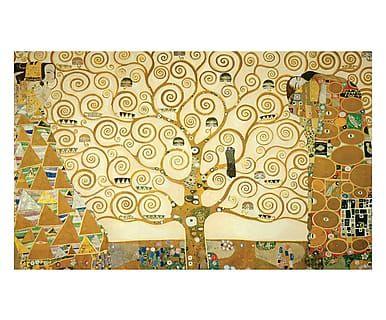 Tappeto multiuso digitale L'Albero della Vita Klimt