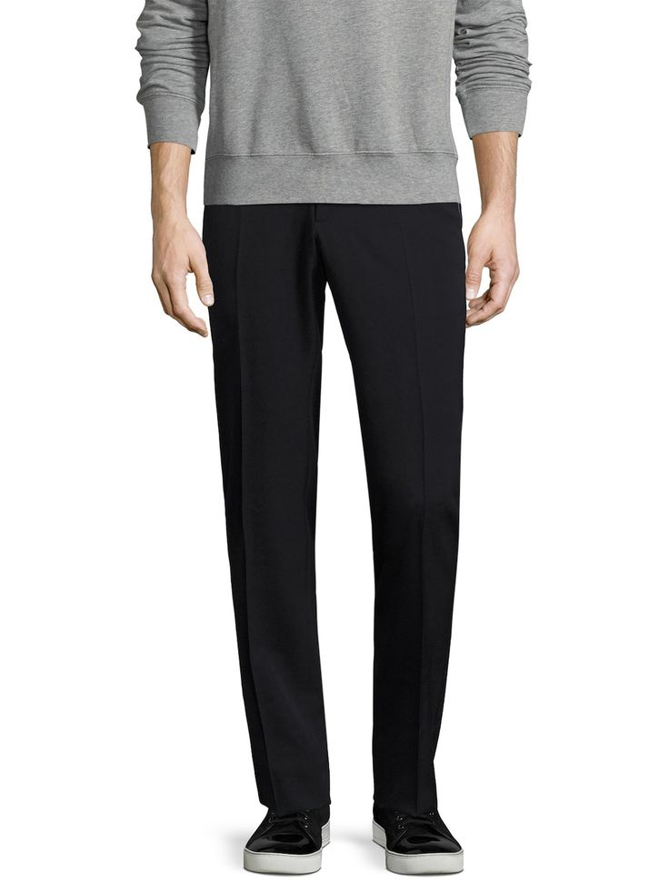DUVETICA SOLID WOOL TROUSERS. #duvetica #cloth #