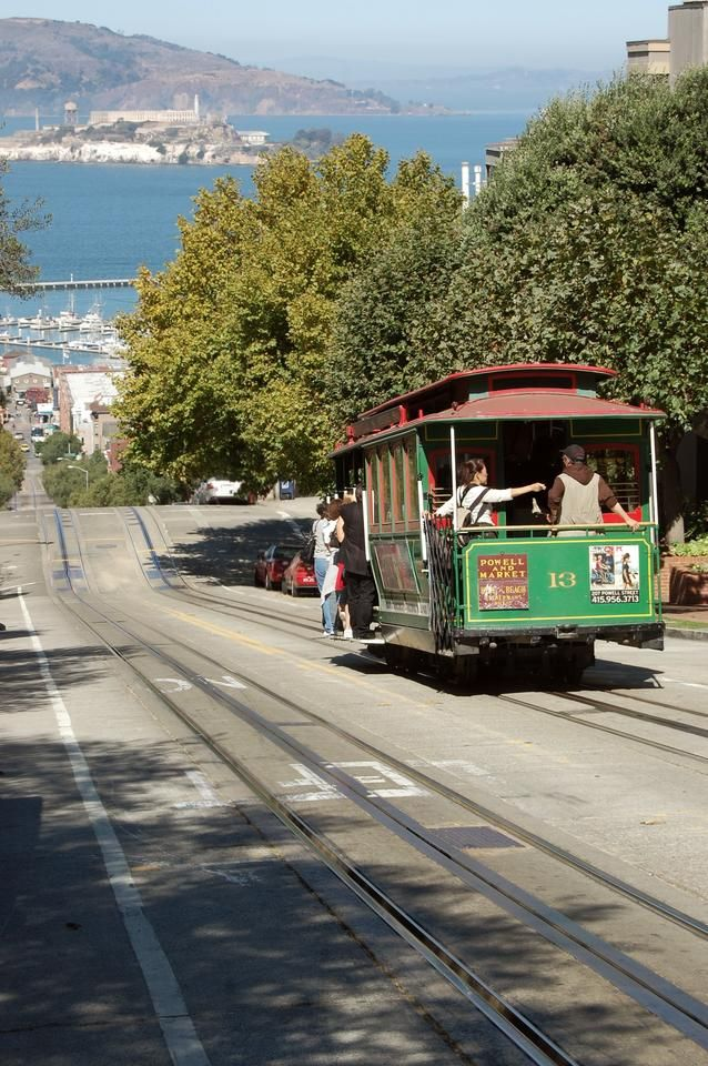 Pretty traditional view of San Francisco.