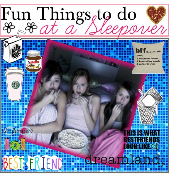 Fun Things To Do At Night At A Sleepover