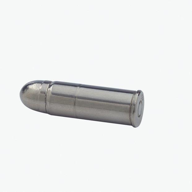 Quais metais existem na bala de uma arma?