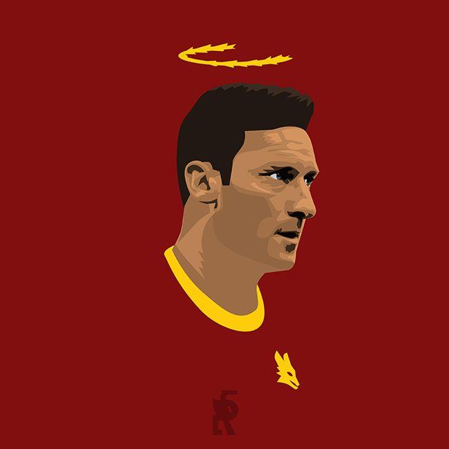 Francesco Totti, AS Roma, Italy. Star, Icon, legend!
