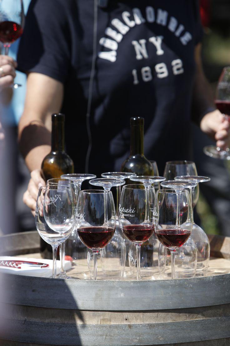 #rapsani #tsantali #wine #adventure #epxerience #oenotourism