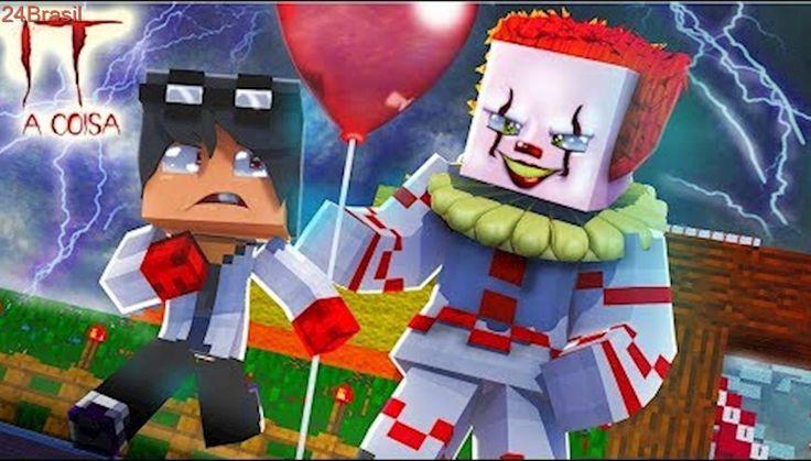 Minecraft Who's Your Family?  O PALHAÇO ASSASSINO ( IT A COISA )