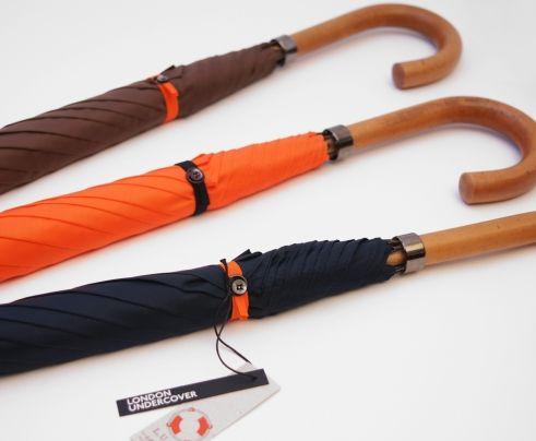 City Gent Lifesaver Orange Umbrella Made in England: England Cities, Gent Lifesav, Undercov Umbrellas, Essential Men, Lifesav Navy, Men Accessories, Cities Gent, London Undercov, Lifesav Umbrellas
