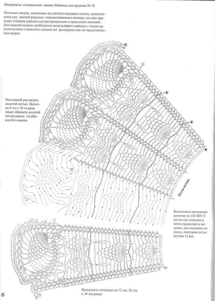 crochet lace fan