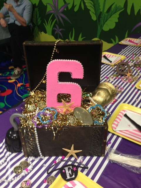 """Photo 3 of 19: Jake and the neverland pirates girl party / Birthday """"Emmerson's 6th Pirate Party"""" 