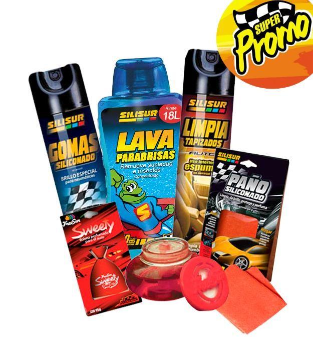 Promo Mujer Pack Limpiezacuidado Autos Silisur Freesur - José Clemente Paz