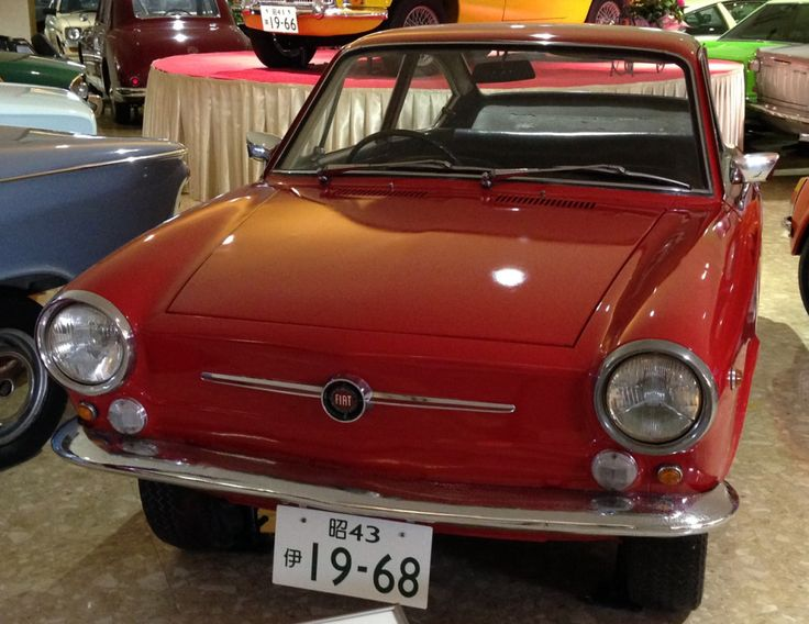 1968 Fiat 850 Coupe