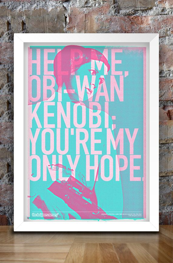 Star Wars Inspired Print Heroes Series by thedesignersnursery, $30.00