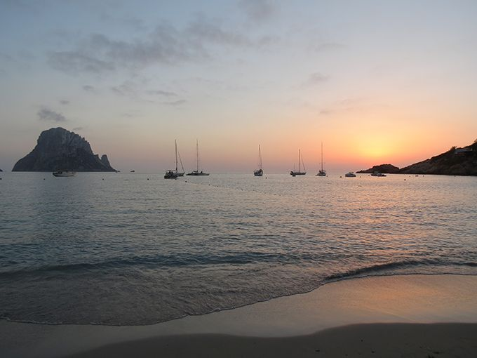 sunset es vedra