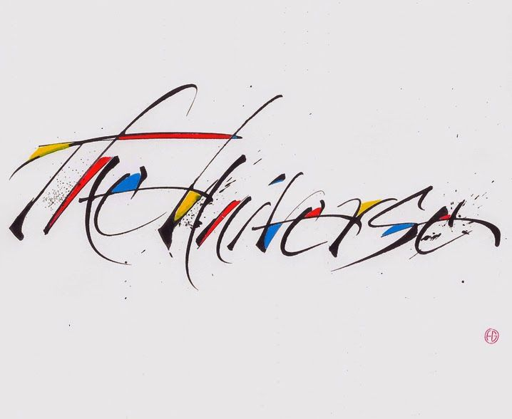 Best contemporary calligraphy images on pinterest