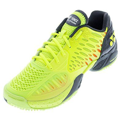 quality design 01f22 740d6 YONEX Men`s Power Cushion Eclipsion Clay Tennis Shoes Yellow – (STECY-U16