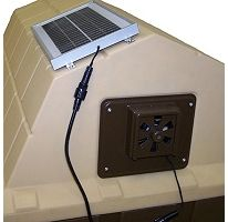 http://how-to-make-a-solar-panel.us/solar-fan.html Solar power ceiling fan review. Solar Powered Exhaust Fan-  For chicken coop
