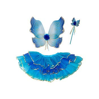 Αποκριάτικο Σετ «Turquoise Sparkle Fairy»