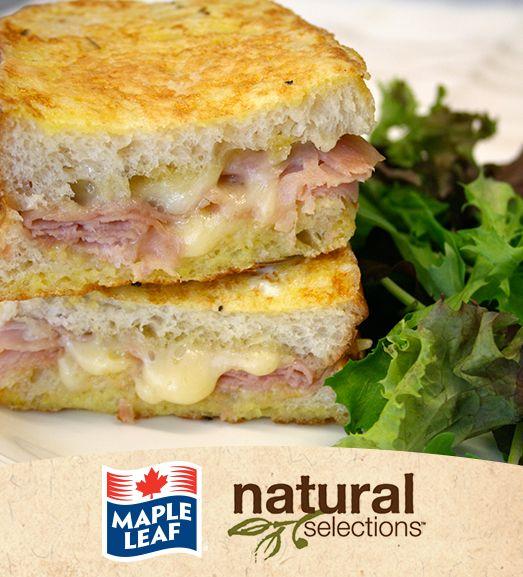 Croque Monsieur #NaturalSelections @Maple Leaf®