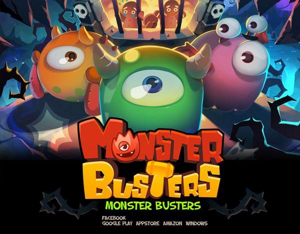 """查看此 @Behance 项目:""""Monster Busters""""https://www.behance.net/gallery/28400289/Monster-Busters"""