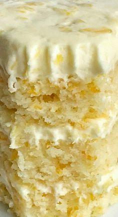 Orange Pineapple Layer Cake