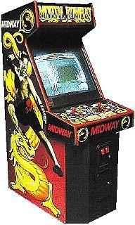 Arcade Games - Mortal Kombat Arcade Game (1992)
