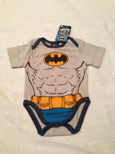 Baby Boys Superman Batman Onesies Outfits Superhero | eBay