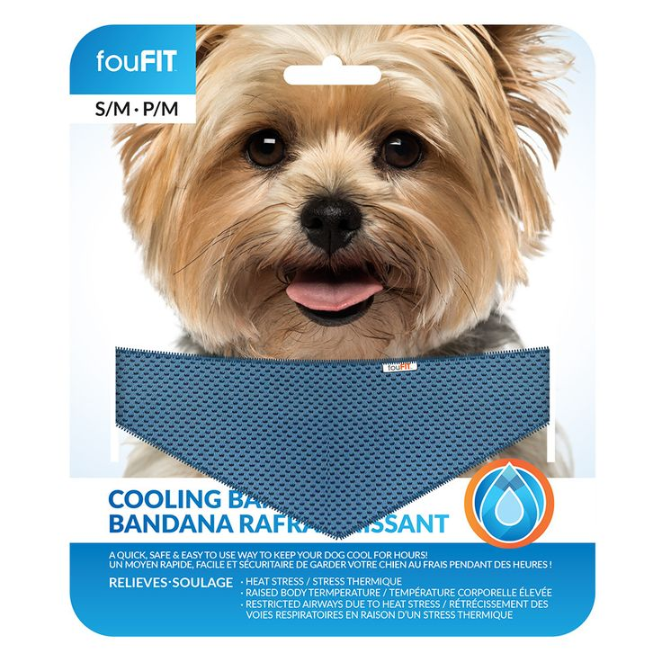 Cooling Bandanas for Dogs - foufoubrands