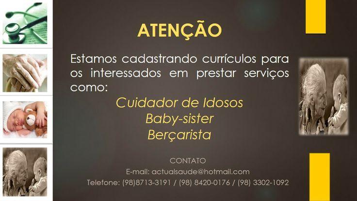 ACTUAL SERVIÇO EM SAÚDE: #Currículos#