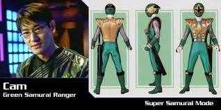 Cam, the Green Samurai Ranger, Power Rangers Ninja Storm