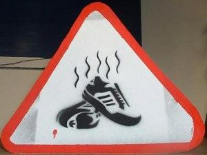 Smelly Soccer Cleats - how to remove the smell